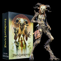 """NECA The Faun Action Figure Pan's Labyrinth 7"""" PVC Collectible Model Toy In Box"""