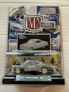 1/64 M2 Machines - Clearly Auto-Thentics -  (clear 1953 Oldsmobile 98 Car)