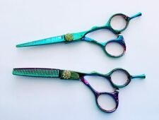 Bonika Poison Ivy Stylist Hair Cutting 440C Stainless Steel 2 Shear Set
