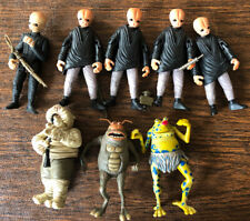Star Wars Loose Figures Lot: Mos Eisley Cantina band And Jabba's Singers