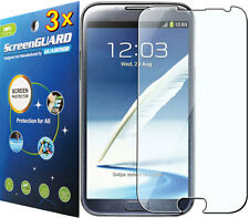3x Clear LCD Screen Protector Samsung Galaxy Note II 2 i317 R950 L900 T889 N7100