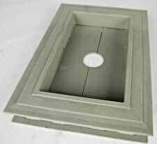 Recessed Split Mount Vinyl Mounting Block Gray Z15037 #7h0
