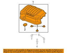 GM OEM Engine Appearance Cover-Engine Cover 12629963