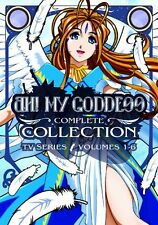 Ah! My Goddess: Complete Collection (DVD, 2009, 6-Disc Set) Rare OOP SEALED
