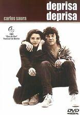 DEPRISA DEPRISA - FAST FAST 1981 -  Carlos Saura SEALED ALL REGION DVD