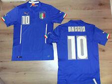 FW14 PUMA XXL HOME ITALIA 10 BAGGIO MAGLIA MAGLIETTA MONDIALI SHIRT JERSEY