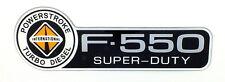INTERNATIONAL F-550 POWERSTROKE  FORD TRUCK FENDER EMBLEM