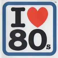 I LOVE 80S various (2X CD, compilation) synth pop, new wave, disco, soul, house,