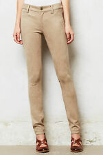 Anthropologie Faux Suede Jeans Skinny Slim Pants Leggings By Level 99, Size 31
