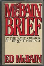 The McBain Brief by Ed McBain,  Arbor House (1982) Book Club Edition