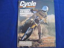 CYCLE MAGAZINE-MARCH 1976-YAMAHA YZ400C -CB550 SUSP-MOTO GUZZI V1000-LAVERDA1000