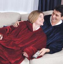 OneSize Blanket Sweatshirt Huggle Hoodie Ultra Plush Blanket Hoodie Soft&Warm