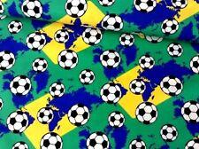 Cuarto Gordo Tela balones de fútbol algodón artesanía acolchado Sport Soccer World Cup
