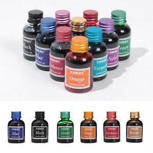 11 Rich Bright Colors Fountain Pen Ink In Bottle 30ml