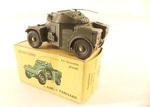Dinky Toys F n° 814 auto-mitrailleuse légère Panhard armoured car en boîte
