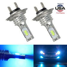 H7 LED Headlight Bulbs Kit High Low Beam 8000K 35W 4000LM Super Bright Ice Blue