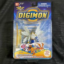 New Sealed Bandai Digimon Action Figure Angemon  Season 1 With Staff