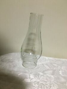 Clear Glass Chimney Kerosene Hurricane Oil Lamp Shade Lantern Globe  7 1/2""