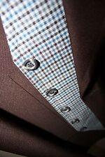 3 PIECE Suit~VINTAGE circa 1970's~Men's Size 42L 35X32~Check REVERSABLE Vest~VTG