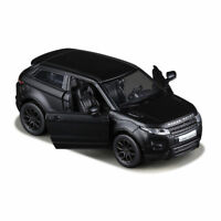 """Land Rover Evoque Model Cars 5"""" Toys 1:36 Collection Alloy Diecast Matte Black"""