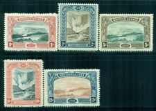 BRITISH GUIANA 152-56 SG216-21 MH 1898 QVIC Jubilee Issue set Cat$175