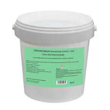 Zitronensäure Monohydrat E330 10kg (2x5kg-Eimer)