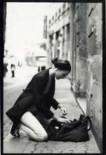 Photo Jean François Jonvelle Tirage Original Modèle Mode Vers 1990