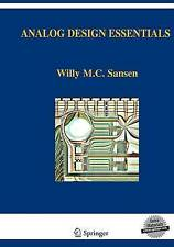 Analog Design Essentials (The Springer International Series in Engineering and