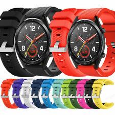Silikon Armband Uhrenarmband Für Huawei Watch GT 2 Classic Pro Fossil Q Moto 360