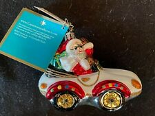Radko Merry Motoring #1012058 - Christmas Ornament with Tags