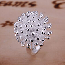 Free shipping wholesale sterling solid silver fashion fireworks Ring XLSR001