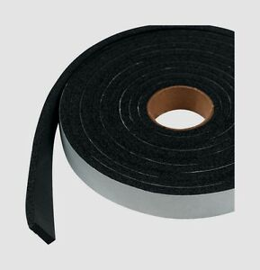 "06593 M-D WEATHERSTRIP TAPE Auto Marine Rubber Adhesive Draft Seal 1/4"" x 10'"