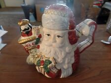 Avon Ceramic Santa Claus Tea Pot #2875