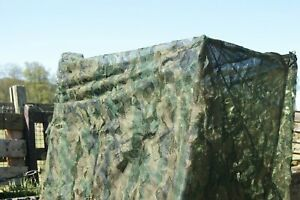4m x 1.5m 3D Leaf Green Hedgerow Camo Stealth Pigeon Shooting Decoying Hide Net