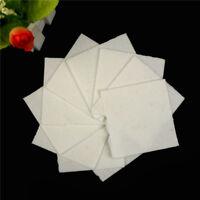 10 Sheets Ceramic Fiber Square Microwave Kiln Glass Fusing Paper 70x70mm JH