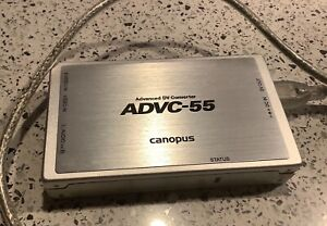 Canopus ADVC-55 Analogue to Digital Video Converter