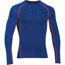 Under Armour HeatGear Exo Longsleeve Baselayer Training Compression Shirt SMALL