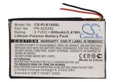 Battery for Plantronics K100, Sony MDR-DS6500, MDR-XB950BT, MDR-RF985R 650mAh