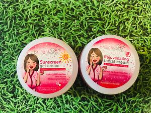 Brilliant Skin Essentials Rejuvenating Cream & Sunscreen 10g Combo