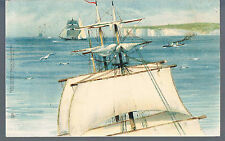 TUCKS POSTCARD MARINE SER 1625 Top sails of two master 1903 1/6 in set BRIGHTON