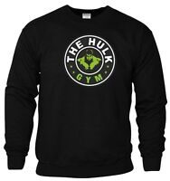 The Hulk Gym Sweatshirt Muscle Fitness Bodybuilding MMA Spartan Workout Gift Top