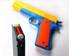 Toy Gun Brand New Realistic 1:1 Scale Colt 1911 Rubber Bullet Pistol NERF Pistol