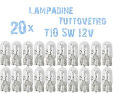 20x Lampen T10 W5W auto-onderdelen Lichten Dashboard Instrumentatie 5W 12V 2C6 2