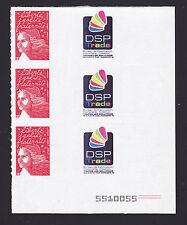 FRANCE  N° 3729A ** MNH Bloc 3 timbres Personnalisés, TB, cote: 30 € (lot1170)