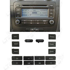 VW RCD 300 RADIO CD PLAYER STEREO CD PLAYER CONTROL BUTTON SWITCH REPAIR  SET