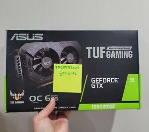 ASUS TUF Gaming GeForce GTX 1660 SUPER OC Graphics Card TUF-GTX1660S-O6G