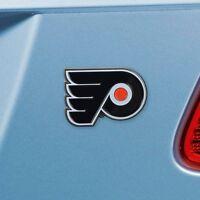 Philadelphia Flyers Heavy Duty Metal 3-D Color Auto Emblem