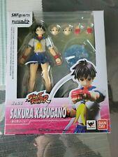 sh figuarts street fighter no. 8 Sakura Kasugano Bandai 2018