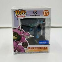 """Funko Pop! Overwatch 6"""" D.Va with Meka #177 Walmart Exc Vinyl Figure"""