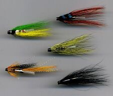 Tube Flies: Assorted. 25 mm long All Brass Tube x 5 (code 365)